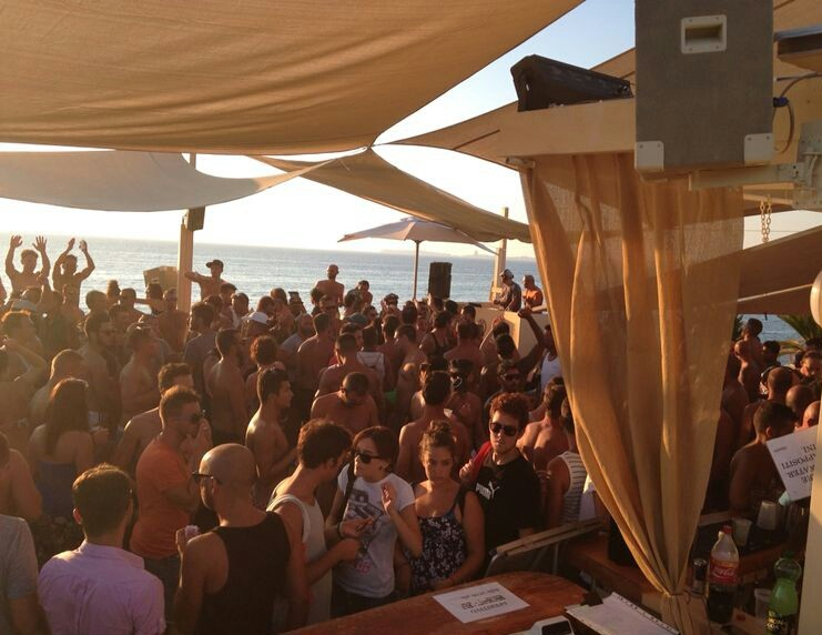 Party G Beach Gallipoli