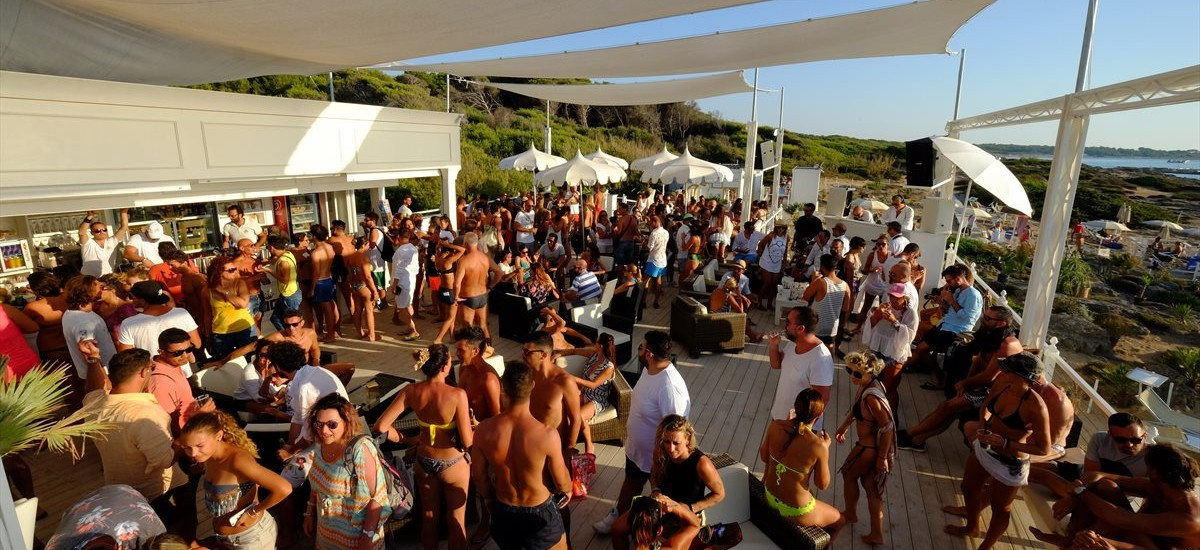 Party in Spiaggia G Beach Gallipoli